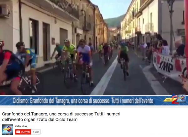 Granfondo del Tanagro, una corsa di successo Tutti i numeri dell'evento organizzato dal Ciclo Team