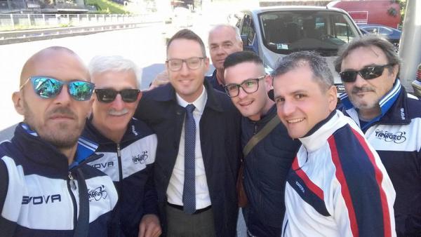 Sei rappresentanti del Ciclo Team TANAGRO sono partiti per il DOLOMITI TOUR 2016