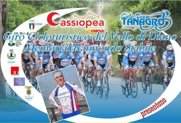 """Domenica 29 giugno ci sarà il giro """"Ciclo turistico Vallo di Diano – memorial Raimondo Stabile"""""""