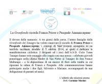 La Granfondo ricorda Franca Priore e Pasquale Ammaccapane